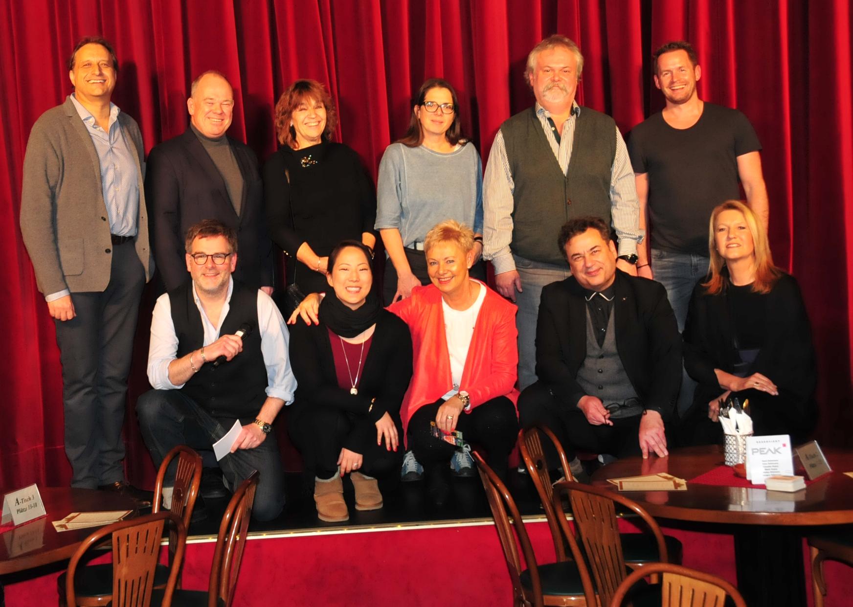 Einige - aber längst nicht alle - unserer Projektpartner 2018 für Darmstädter Frauenhaus, Schulranzen-Aktion 2018, Christoph-Graupner-Schule und V.I.P.eers Kranichstein.   Foto: ©Ralf Hellriegel Verlag