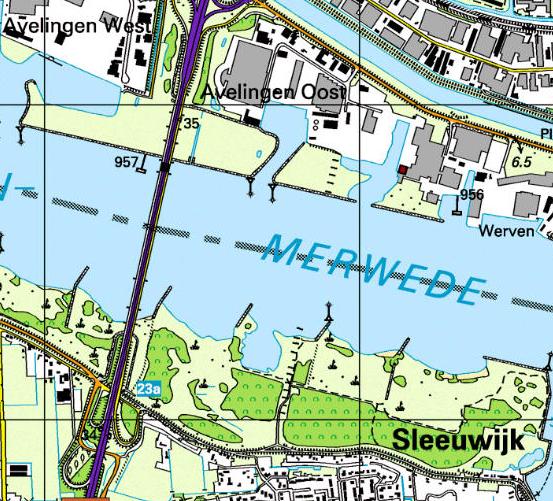 Topografische kaart van 2003