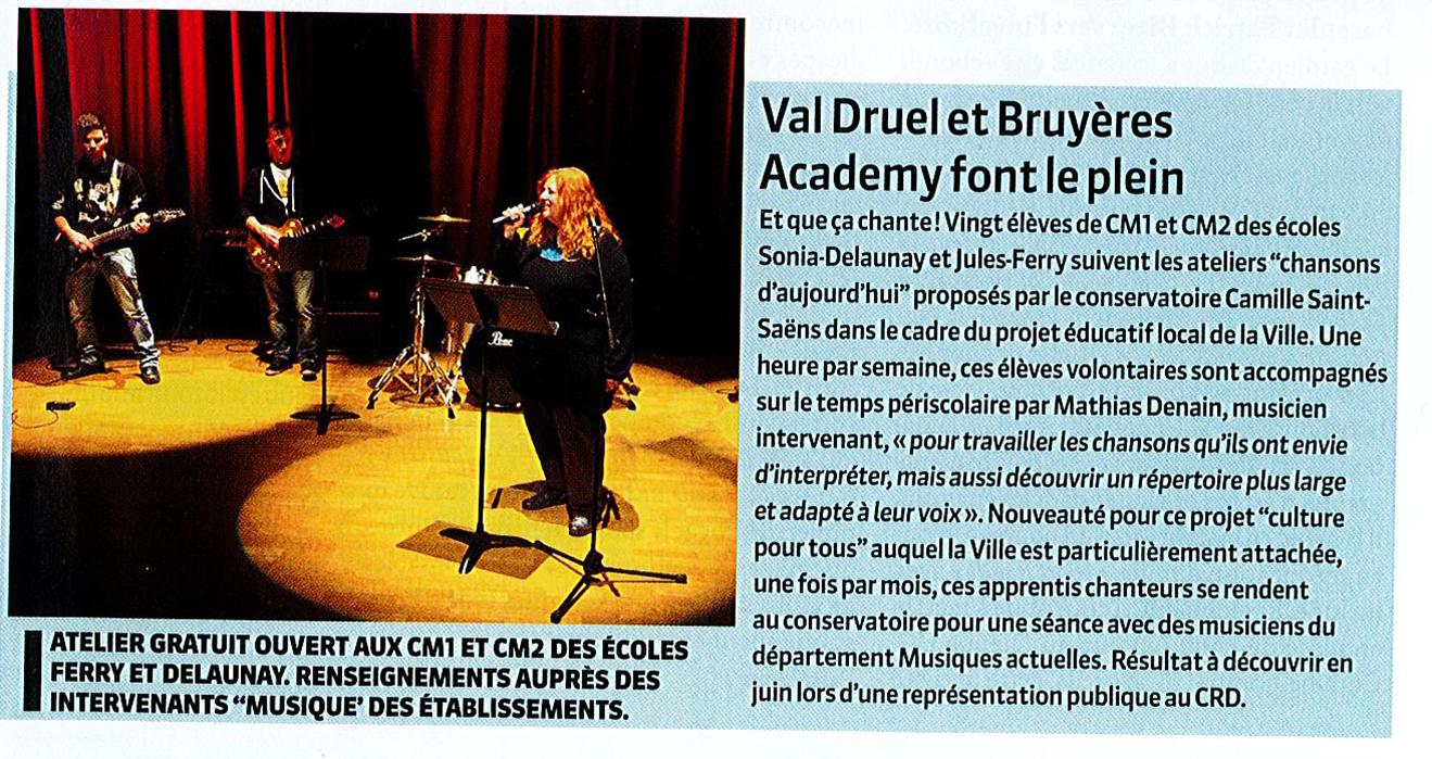 Journal de Bord - janvier 2016