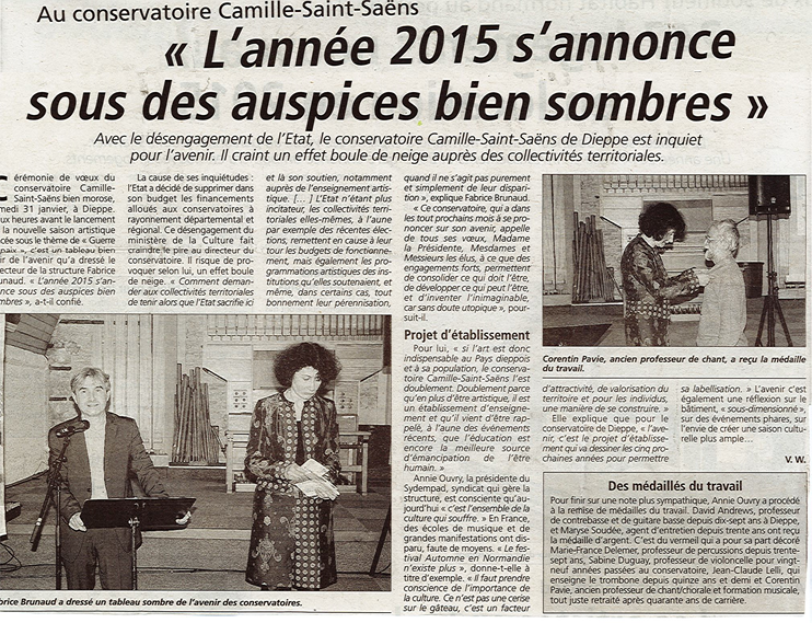 Informations Dieppoises - février 2015