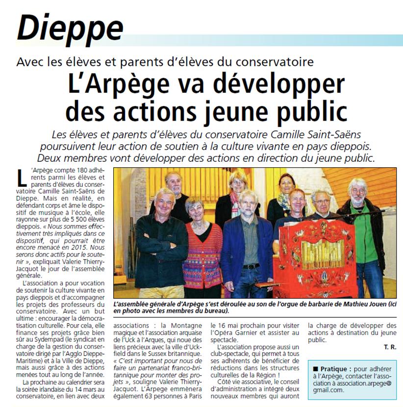 Informations Dieppoises - novembre 2014