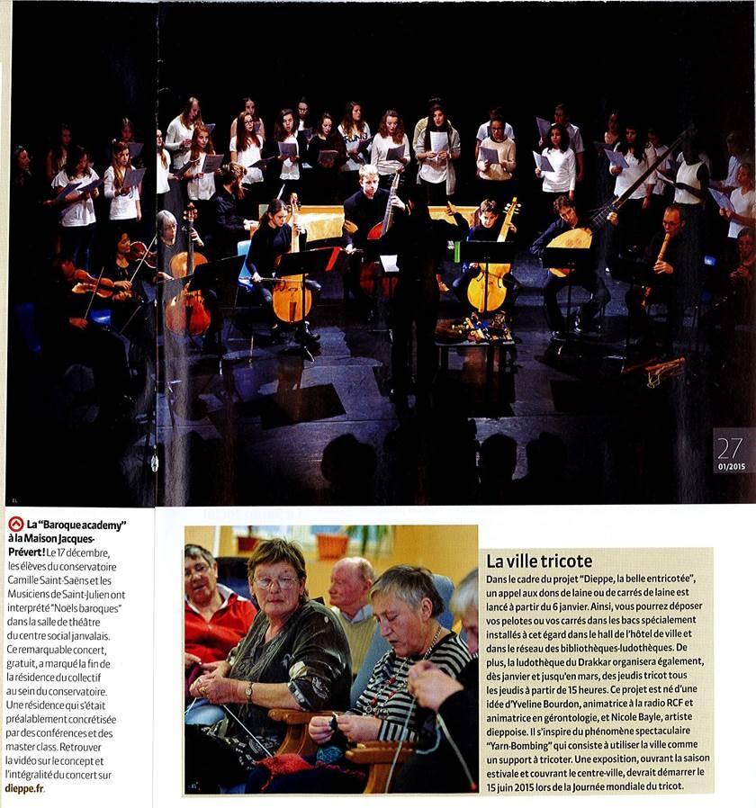 Journal de Bord - janvier 2014