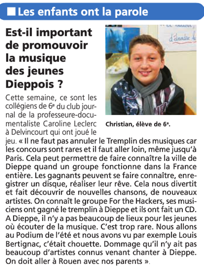 Informations Dieppoises - mars 2015