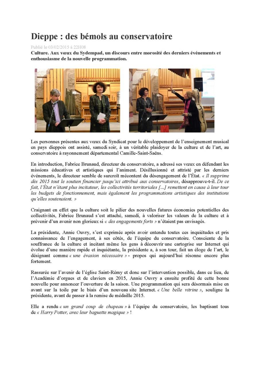 Paris-Normandie - février 2015 page 1