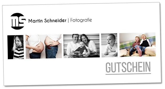 Gutschein für Martin Schneider | Fotografie