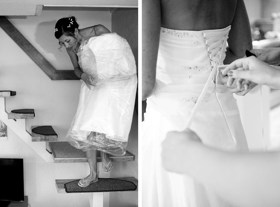 Hochzeitsvorbereitung im Zittauer Gebirge Martin Schneider Fotografie