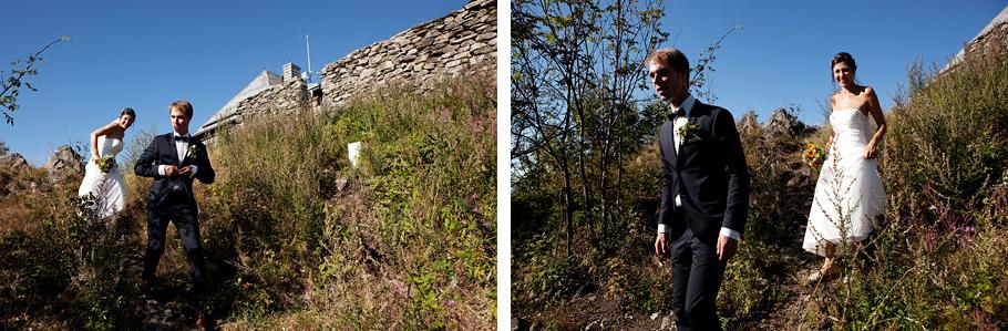 Wandern auf dem Hochwald in Oybin im Zittauer Gebirge