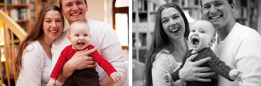 Martin Schneider Fotografie Familienportrait Görlitz mit Baby