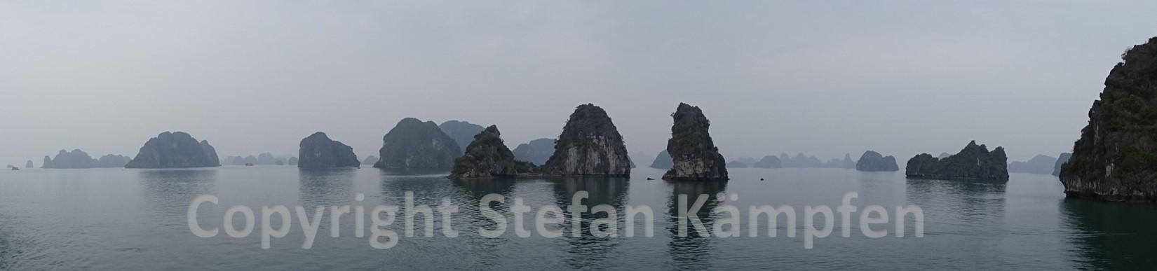 Gehört zum UNESCO Weltnaturerbe: Die Halong Bay