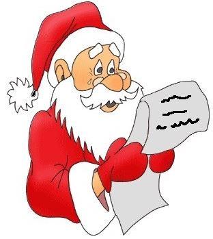 Message du Père Noël aux élèves de maternelle de Bonabry