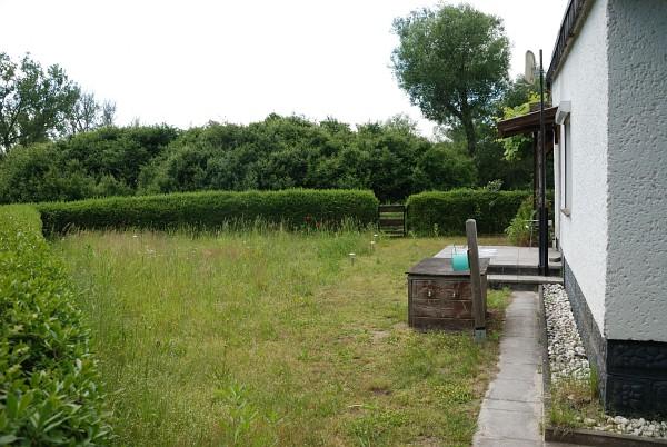 Südlicher Teil des Gartens.