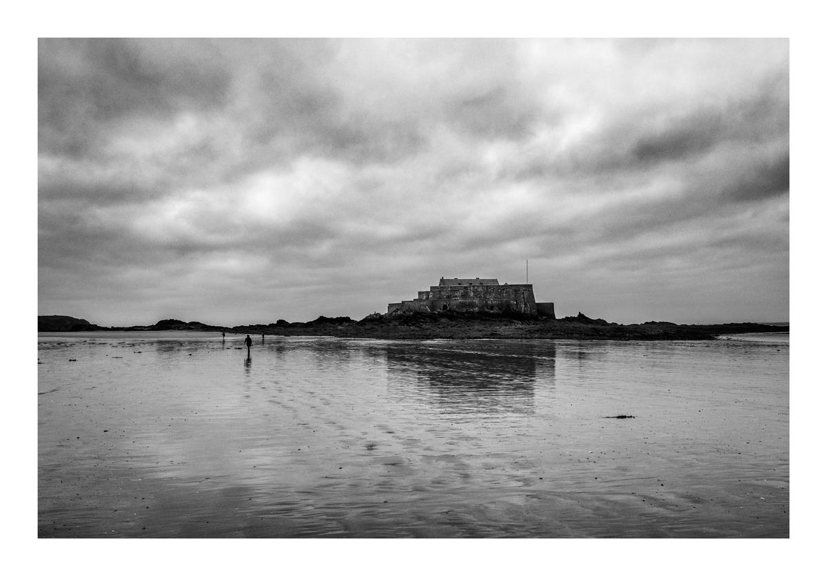 Fort grand bé - Saint Malo.
