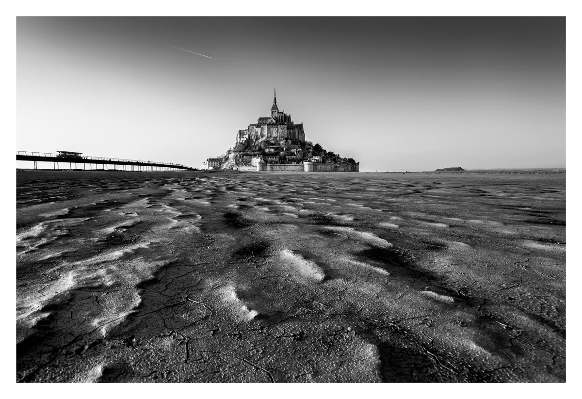 Fissures - Le Mont Saint Michel.