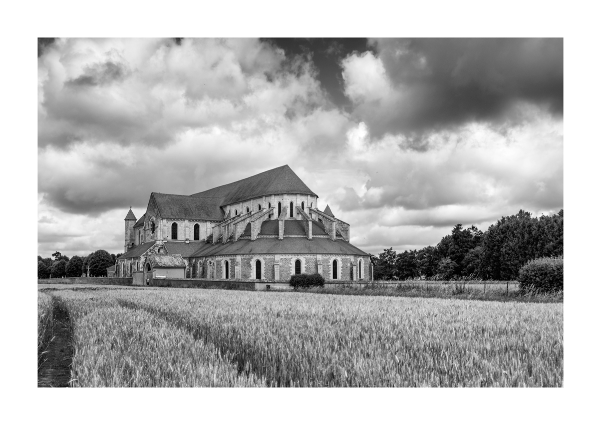 L'abbaye - Pontigny.