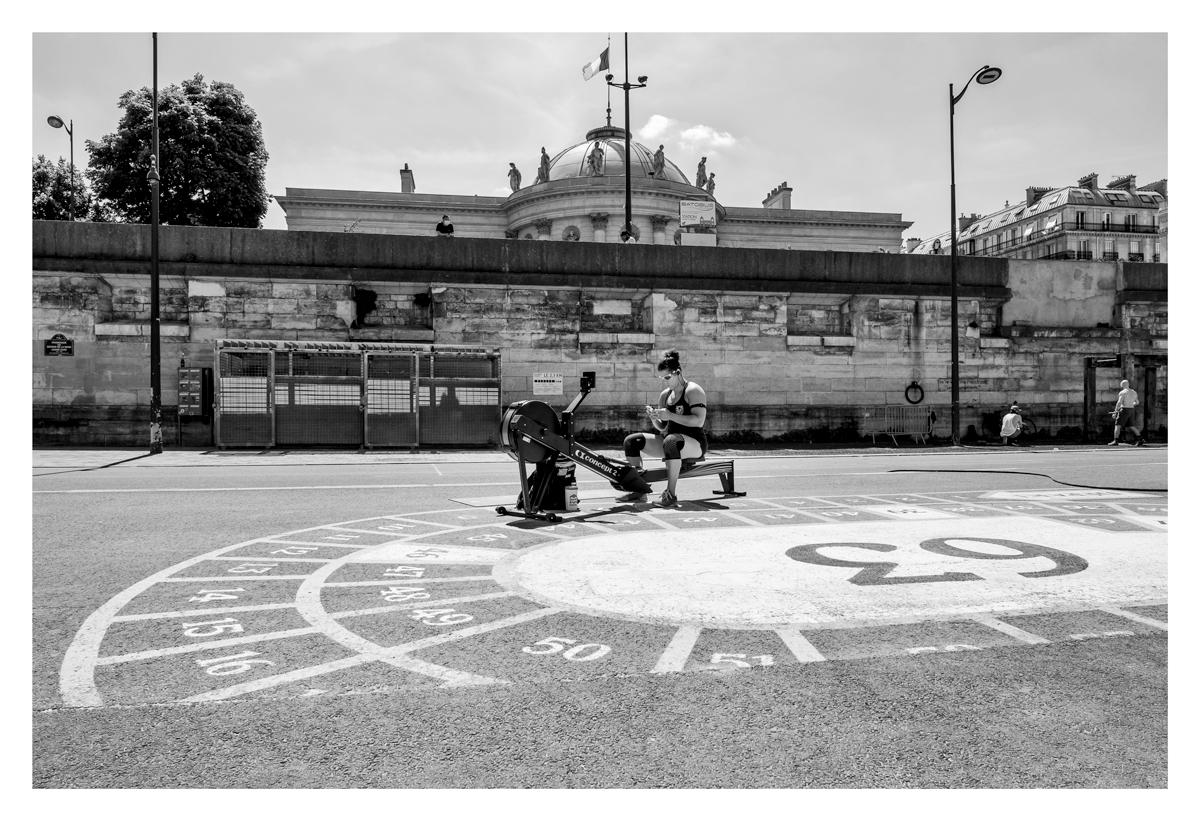 Sport en plein air - Paris.