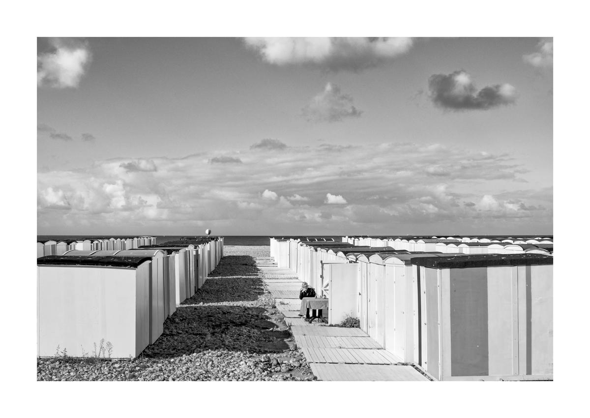 Dos à la mer - Le Havre.