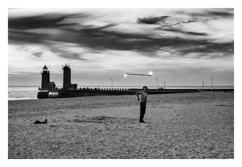Le jongleur - Fécamp.