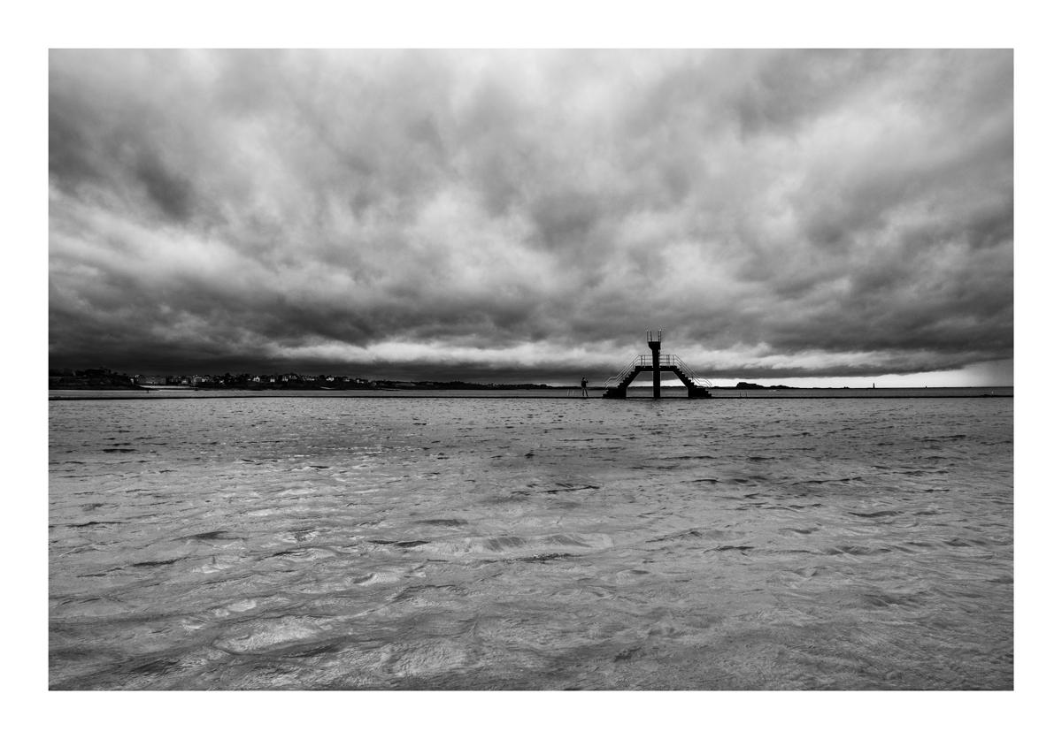 Le plongeoir - Saint Malo.