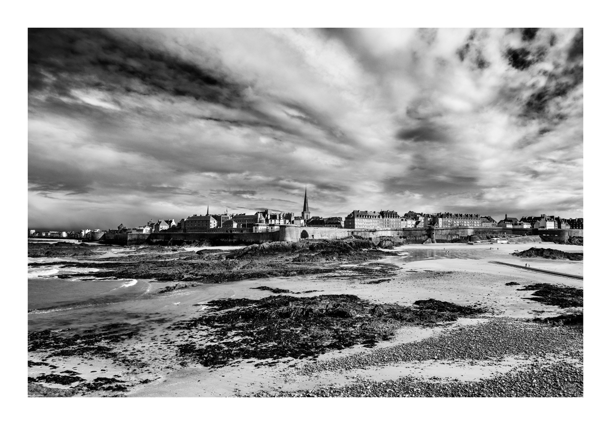 Vieille ville - Saint Malo.