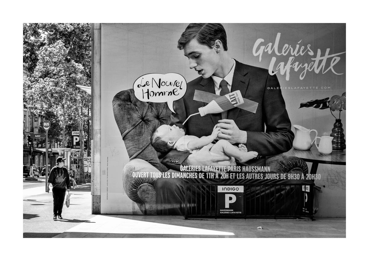 L'homme moderne - Paris.