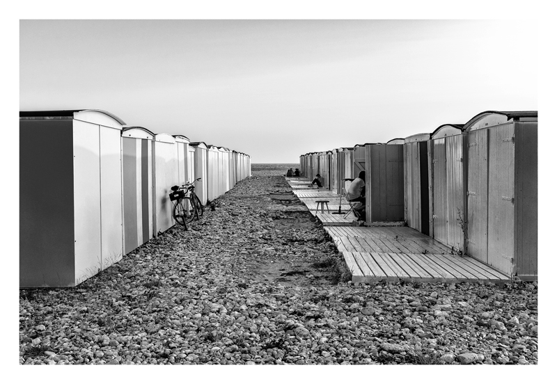 Les cabines - Le Havre.