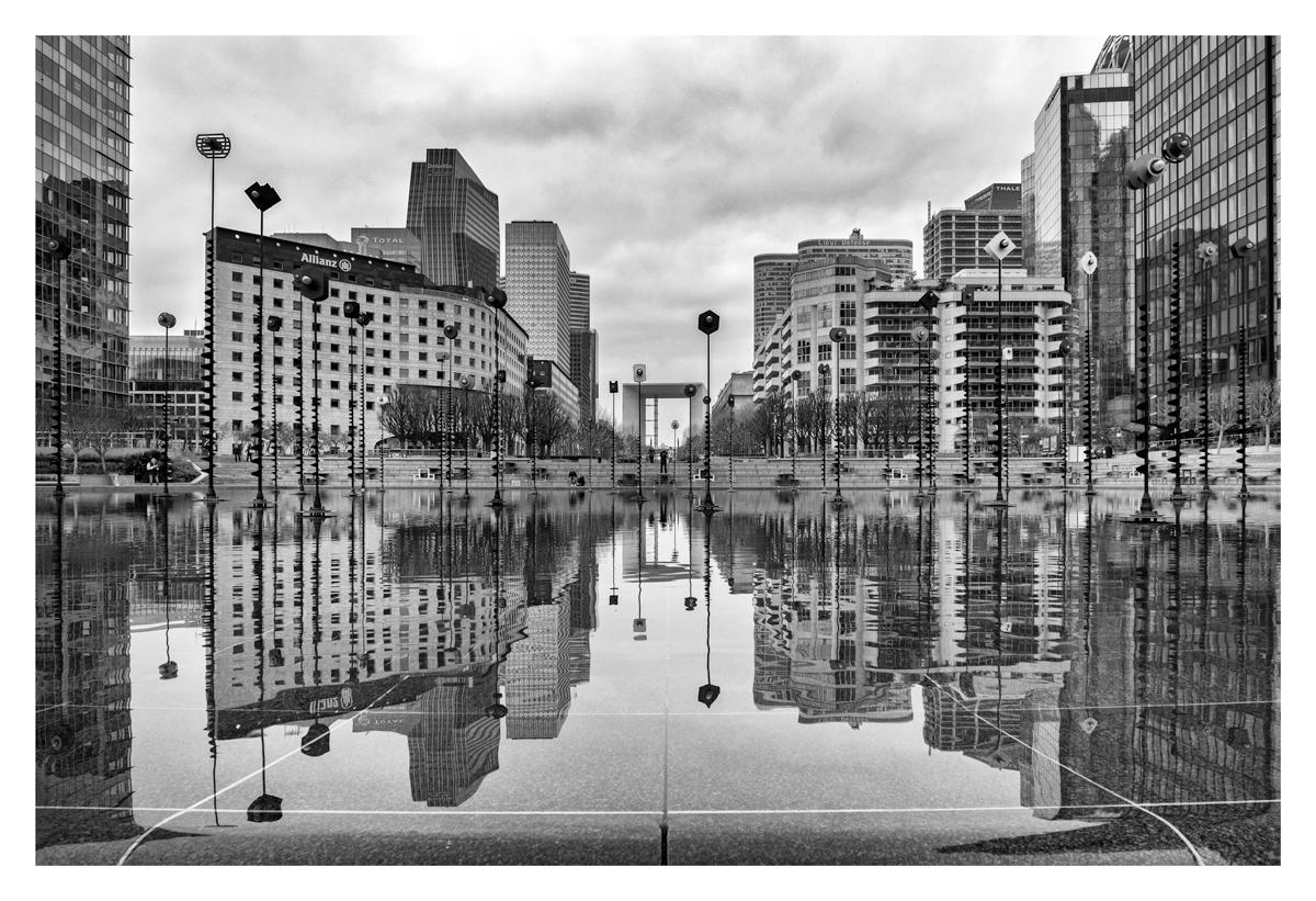 Miroir parfait - La Défense.