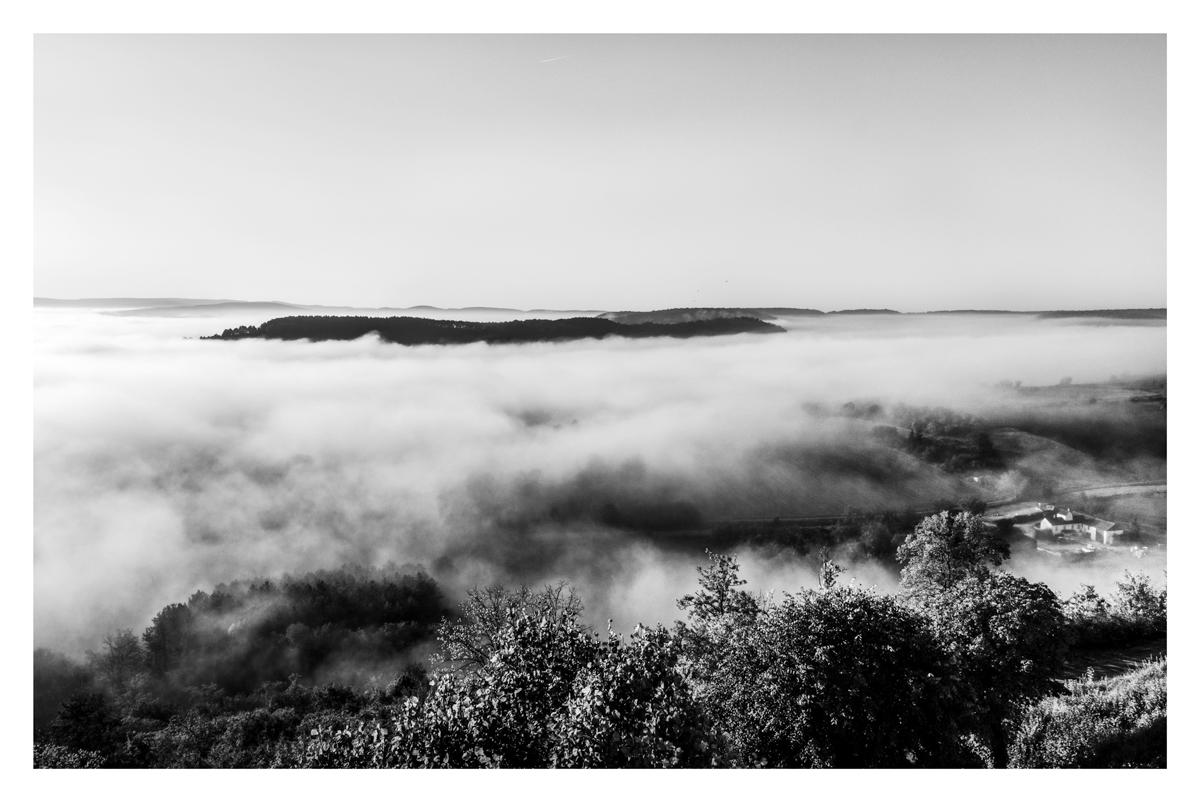 Fumée - Vézelay.