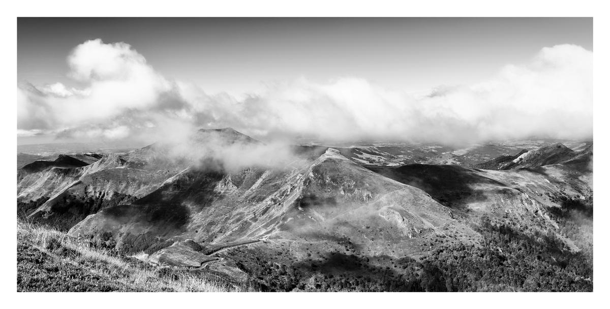 Auvergne - Le Puy Marie.