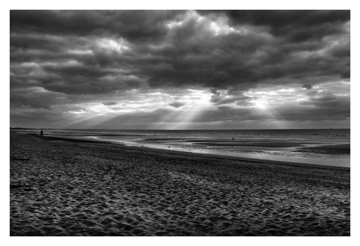 Crépuscule - Cabourg.