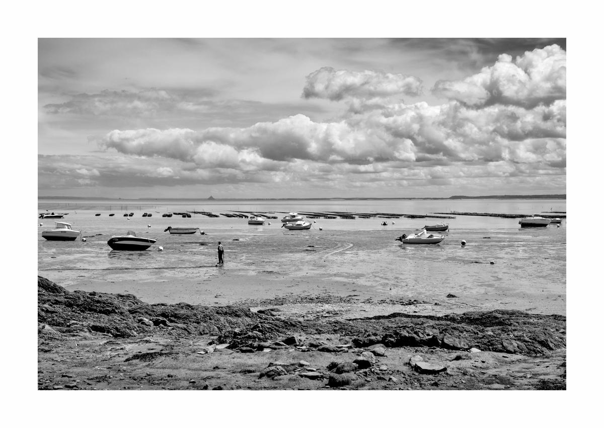 Le pêcheur solitaire - Cancale.
