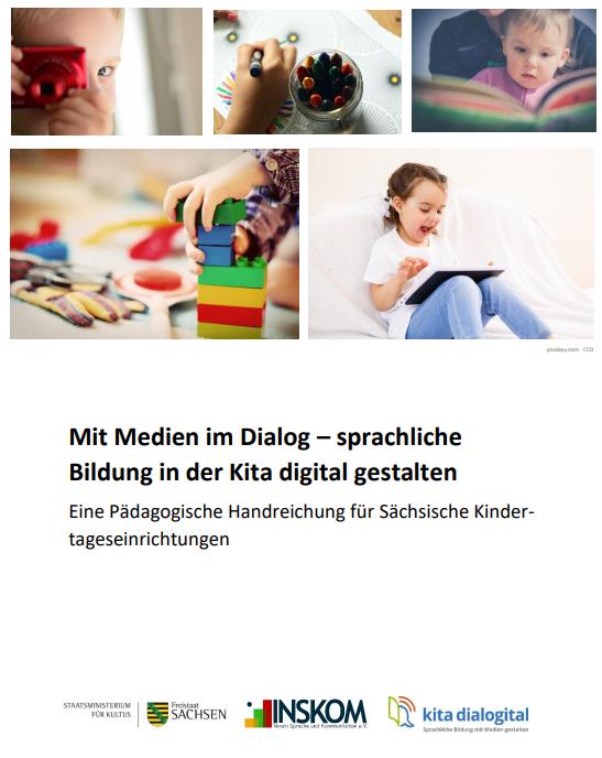 Handreichung zur Sprachförderung digital veröffentlicht