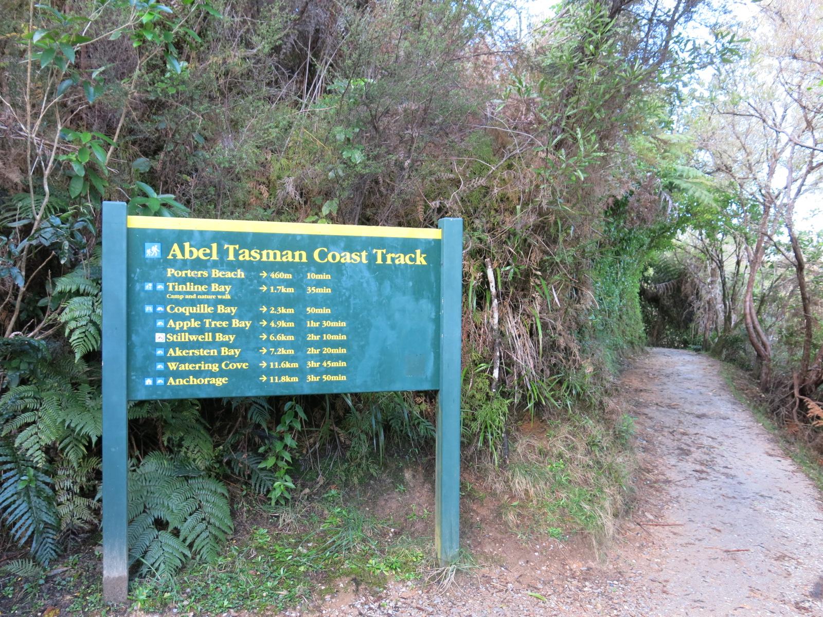 Abel Tasman National Park Entrance