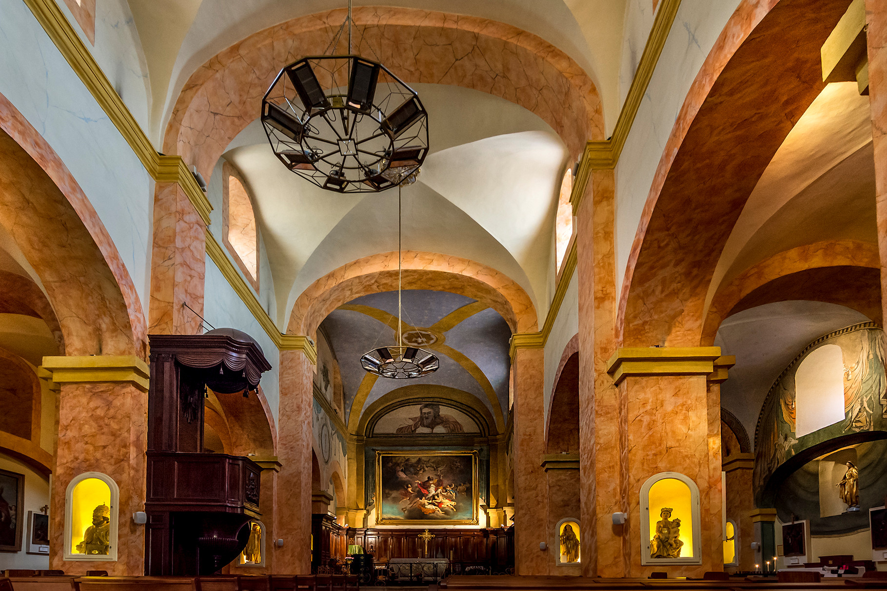 andré Tabare: Eglise de Bormes les Momosas