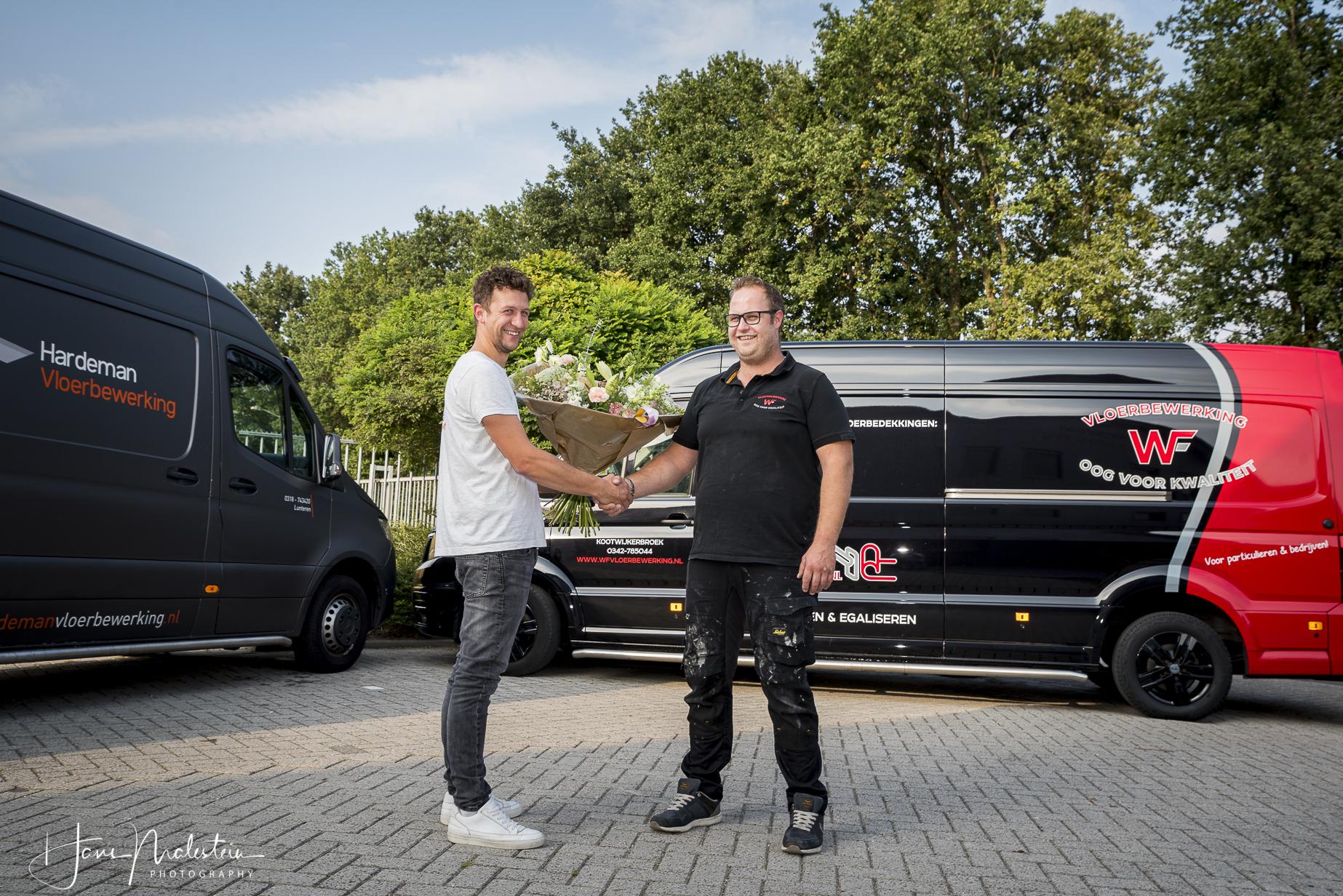 Ardi Hardeman en Willem-Jan van 't Foort