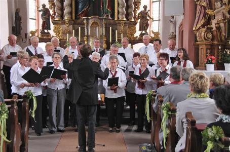 Chorkonzert zum 60-jährigen Jubiläum - 280413 - Leitung: Florian Schaub