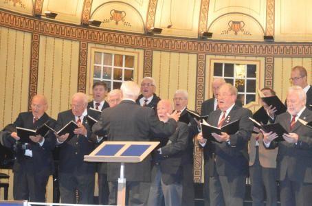 beim Gruppenchorkonzert - Wandelhalle Bad Kissingen - 181015