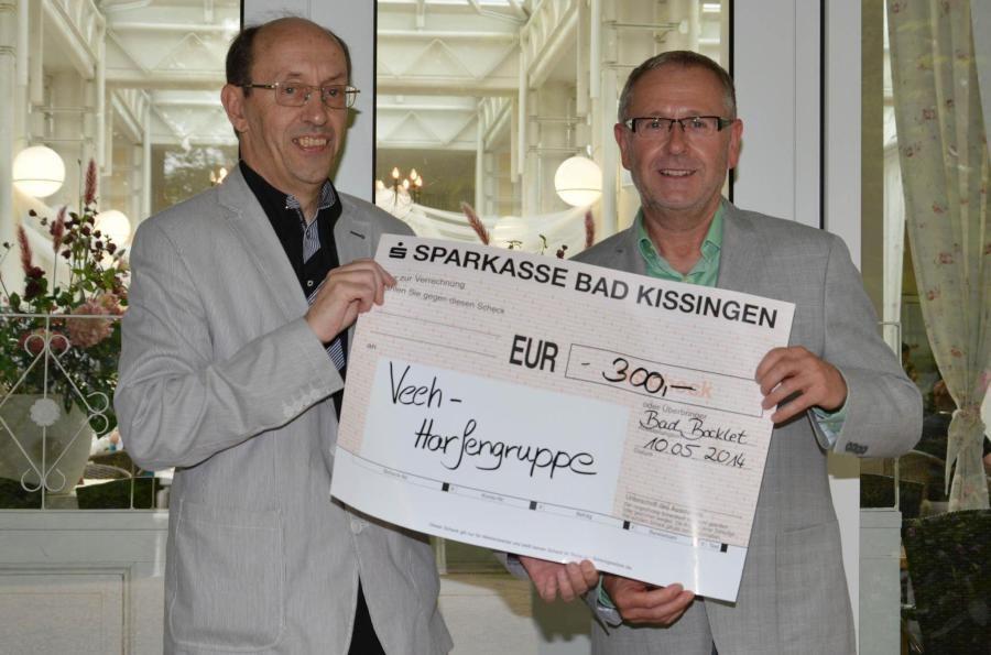 Vorsitzender Siegfried Gottwald - Werkstattleiter Manfred Denninger