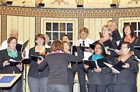 beim Gruppenchorkonzert, Wandelhalle Bad Kissingen - 181015