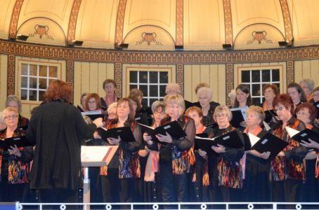 Gemeinschaftsfrauenchor Garitz/Steinach - Leitung: Andrea Metzler, Gruppenchorkonzert 2015