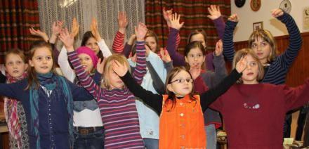 Der neue Kinderchor - Februar 2011