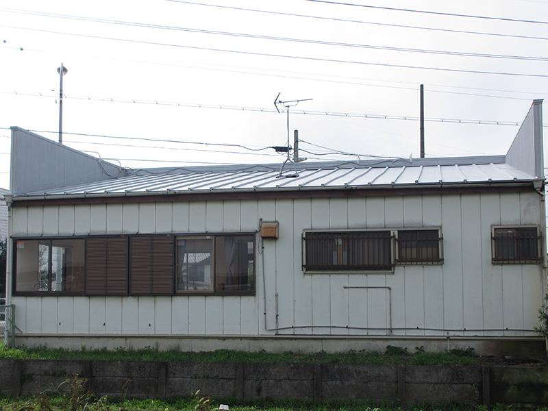 静岡県袋井市・店舗屋根