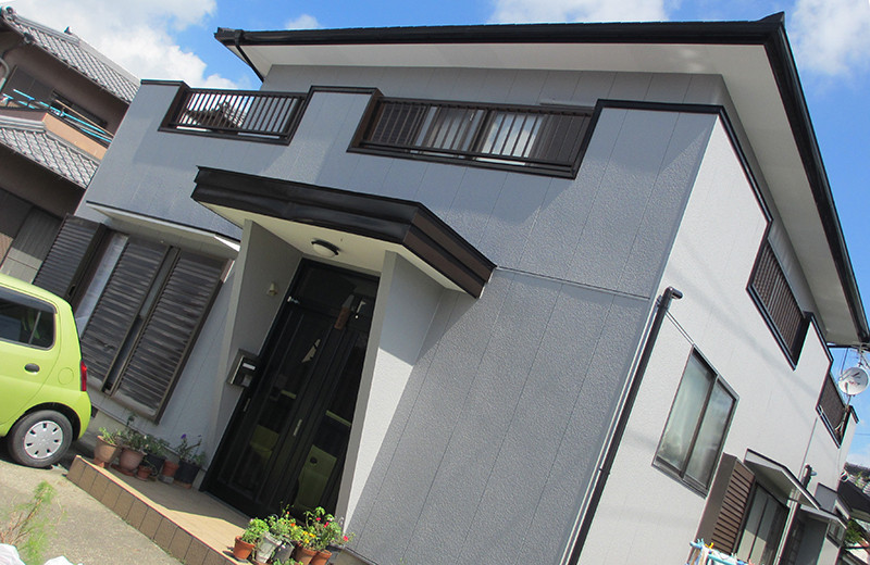 静岡県森町・N邸「屋根・外壁塗装」