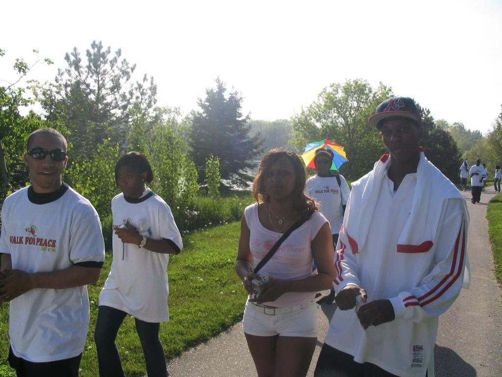 2006 WALK FOR PEACE - RAMONE AND JASON