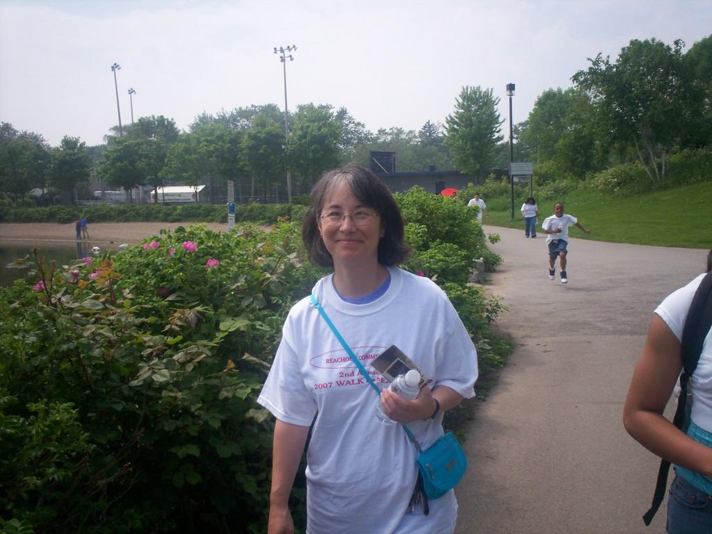 2007 WALK FOR PEACE - MARI RUTKA TORONTO SCHOOL BOARD TRUSTEE