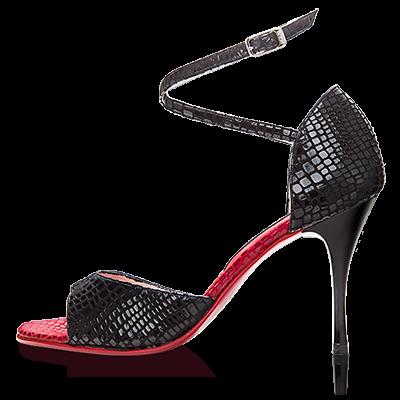 TBW-430-Pn-Croco Negro x Croco Rojo