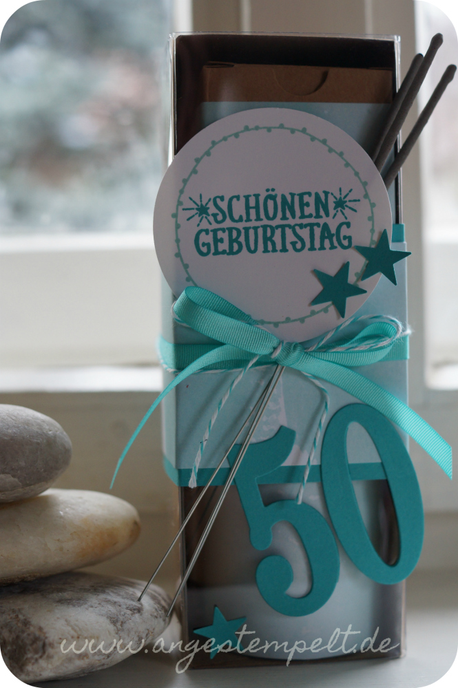 Mini-Wellnesspaket mit Stampin´Up! - Patricia Stich 2016