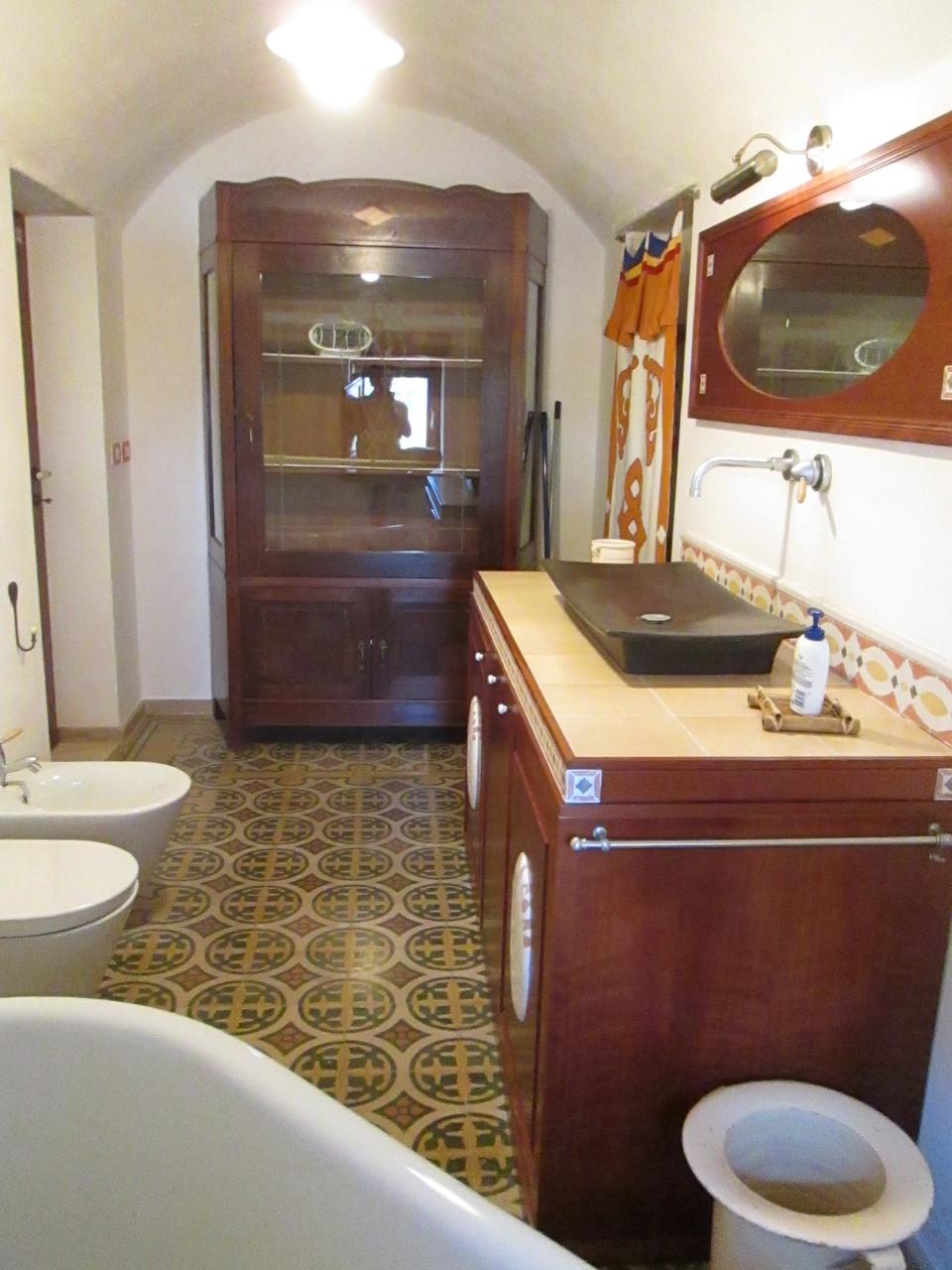 Trullo Fico d'India - Sala da bagno con grande vasca