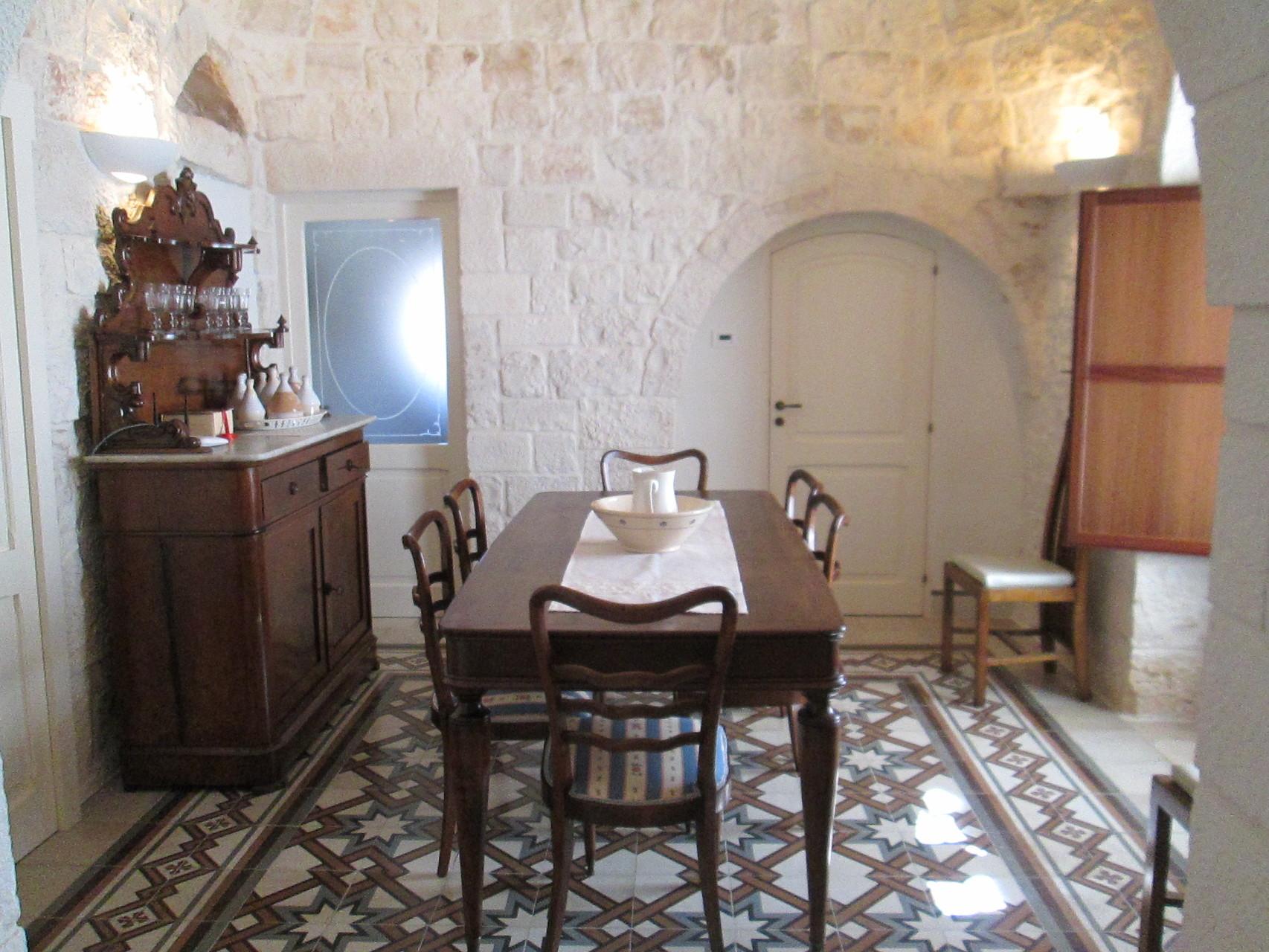 Trullo San Michele - Sala da pranzo