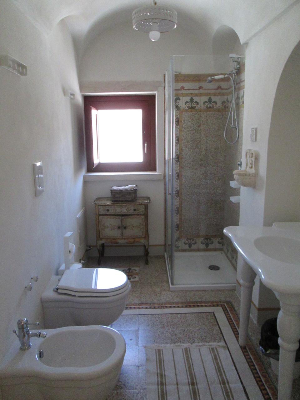 Trullo San Michele - Sala da bagno