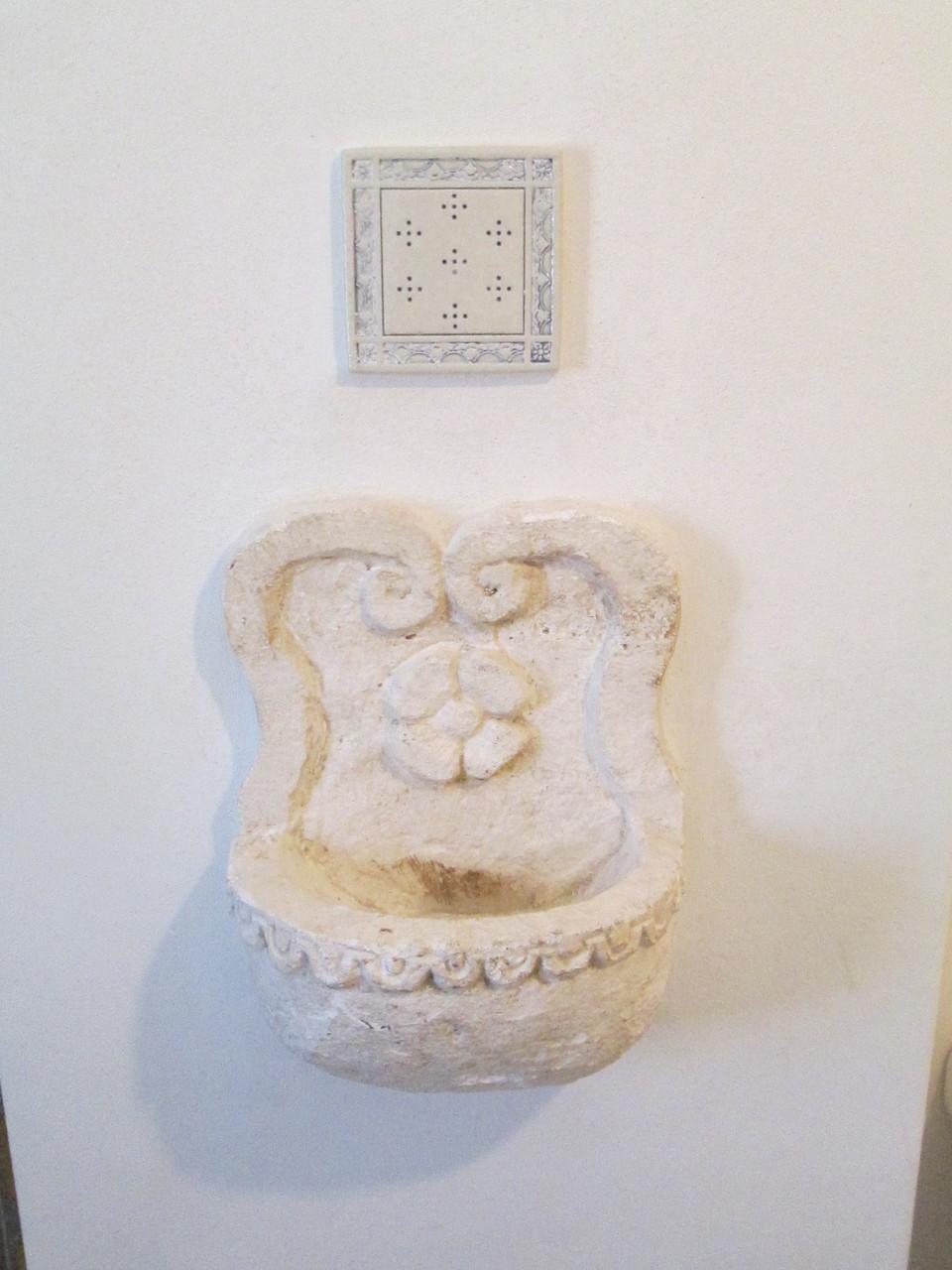 Trullo San Michele - Dettaglio della sala da bagno